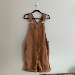 BNWT Forever21 overall shorts